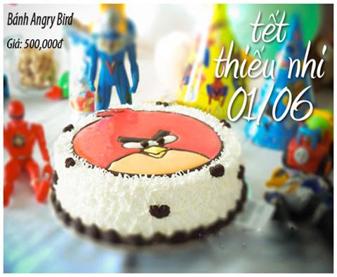 Bánh sinh nhật angry bird