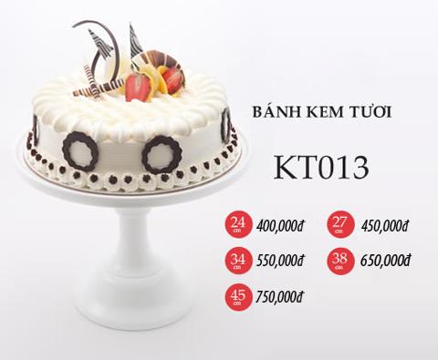 Bánh sinh nhật kem tươi KT013