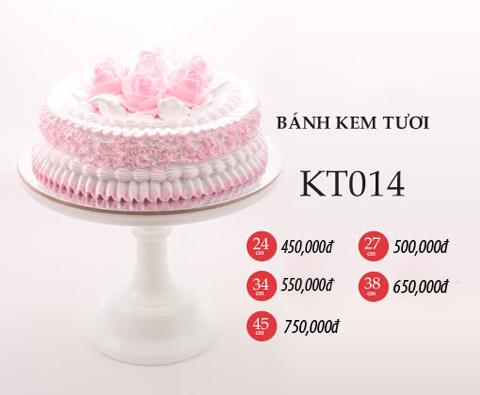 Bánh sinh nhật kem tươi KT014