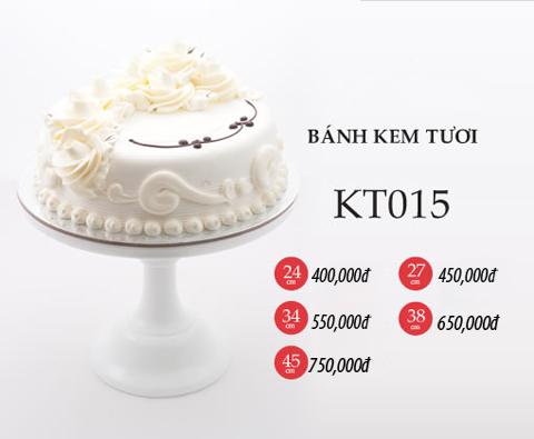 Bánh sinh nhật kem tươi KT015