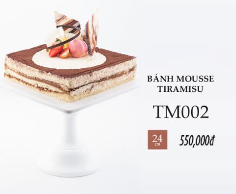 Bánh sinh nhật mousse tiramisu tm002
