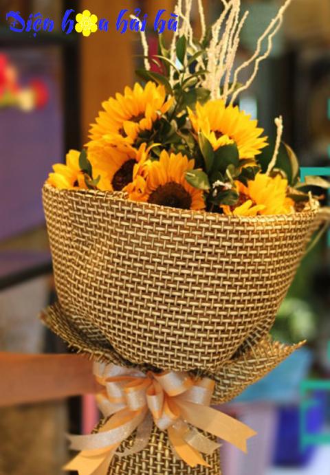 Bó hoa hướng dương đẹp