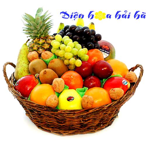 Mẫu giỏ hoa quả 11