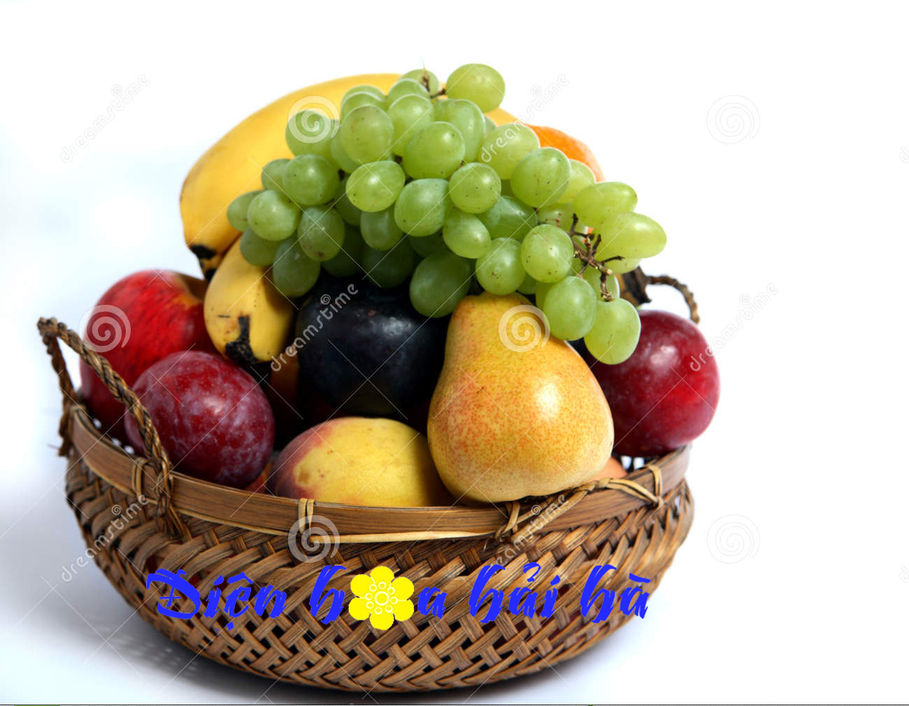 Mẫu giỏ hoa quả 14