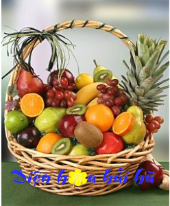 Mẫu giỏ hoa quả 18