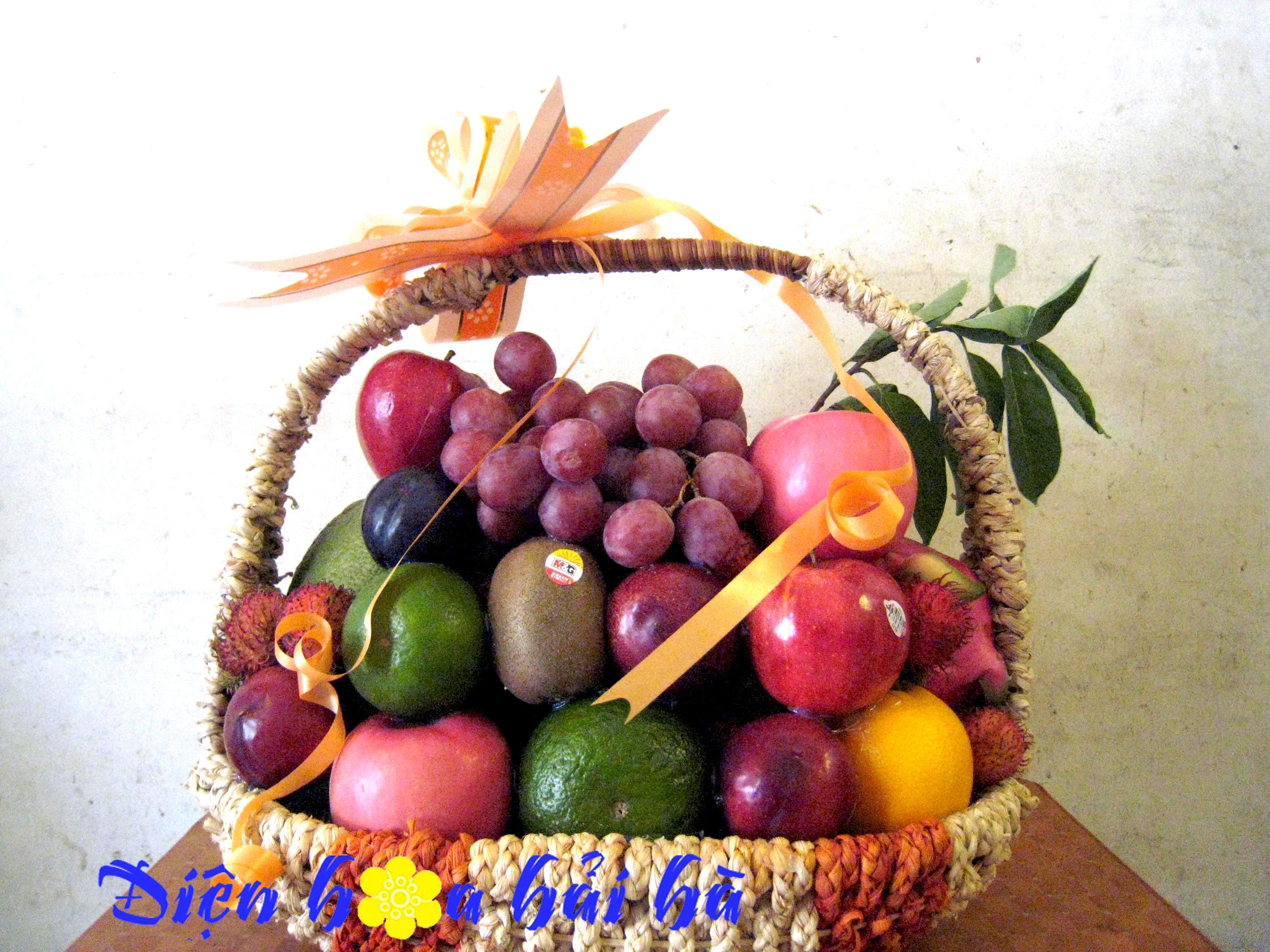 Mẫu giỏ hoa quả 19