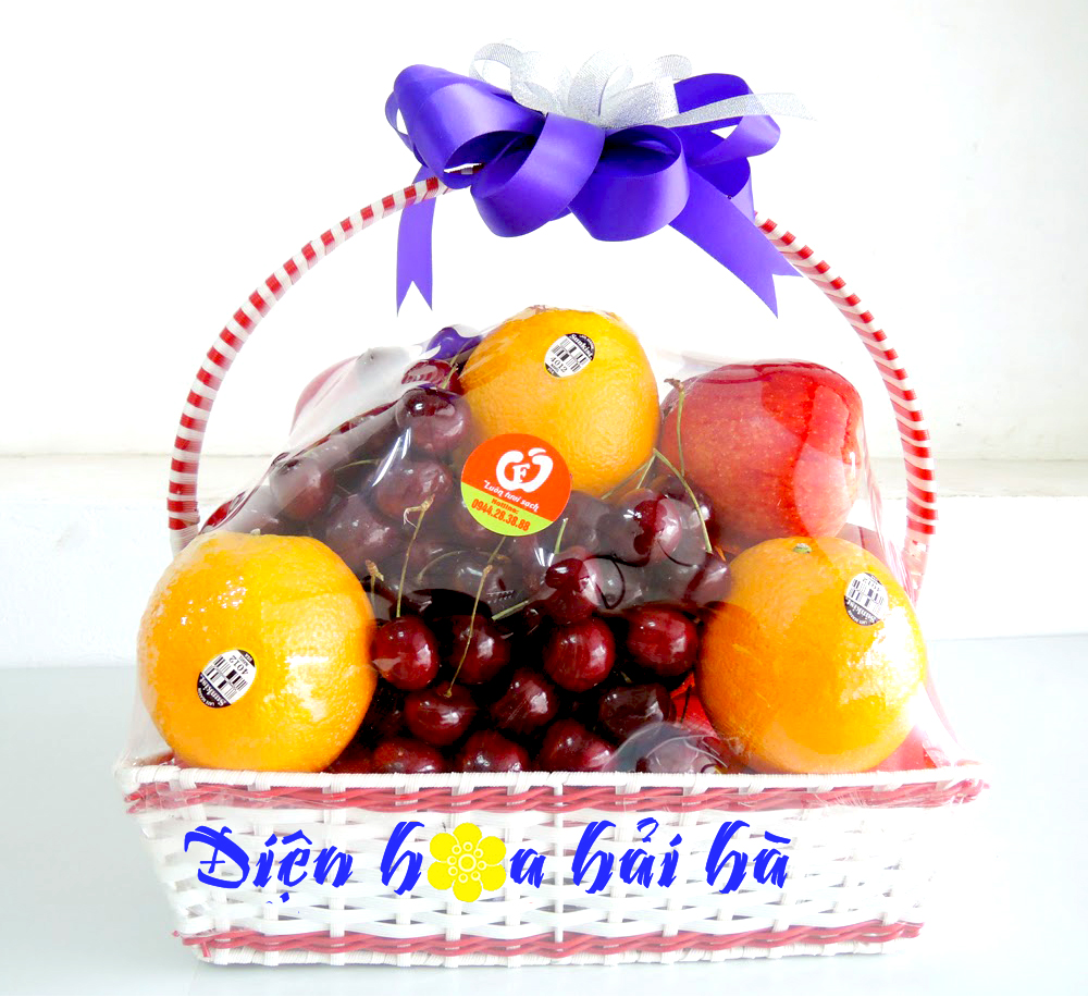 Mẫu giỏ hoa quả 22