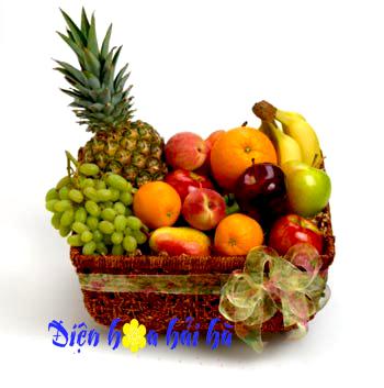 Mẫu giỏ hoa quả 24