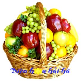 Mẫu giỏ hoa quả 26