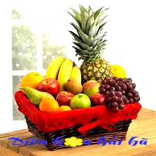 Mẫu giỏ hoa quả 31