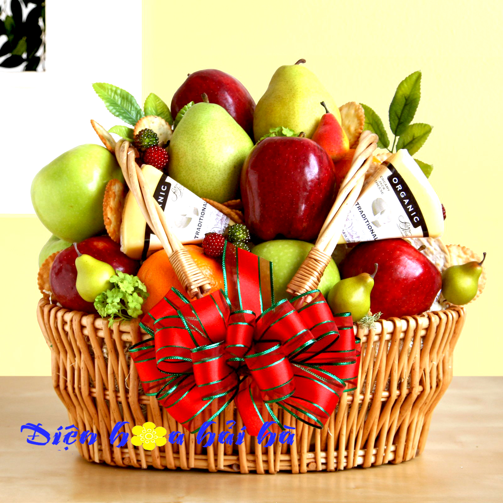 Mẫu giỏ hoa quả 32