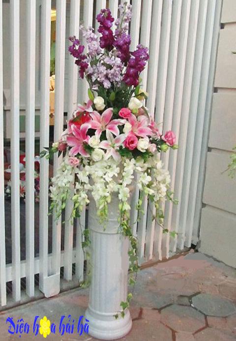Lẵng hoa mừng cưới