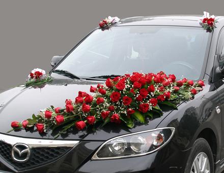 Xe hoa hồng đỏ