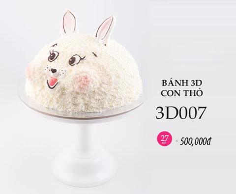 Bánh sinh nhật hình con thỏ