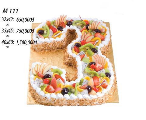 Bánh sinh nhật số 3
