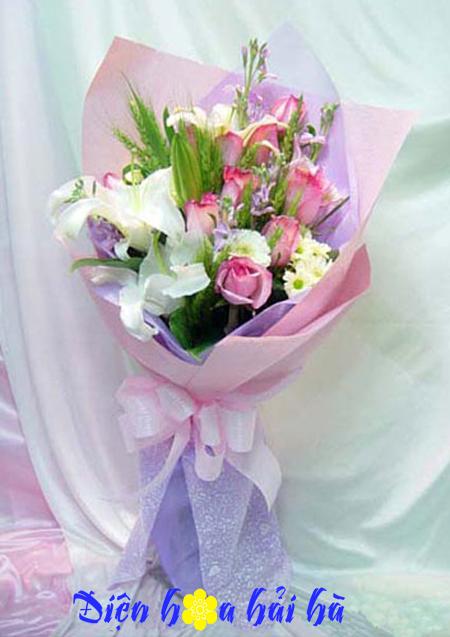 Bó hoa đẹp tặng bạn