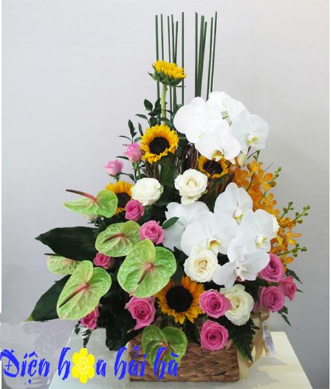 Hoa tặng nam giới mẫu 19