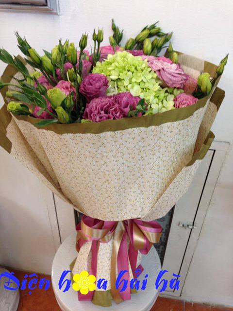 Bó hoa lan tường đẹp