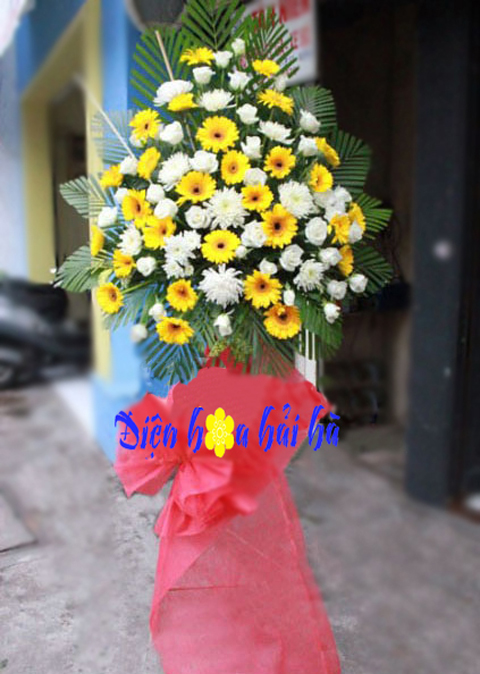 Hoa lẵng khai trương