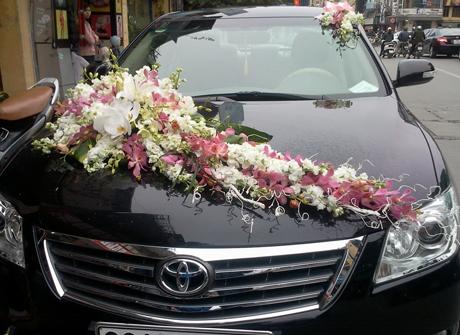 Mẫu xe hoa sang trọng