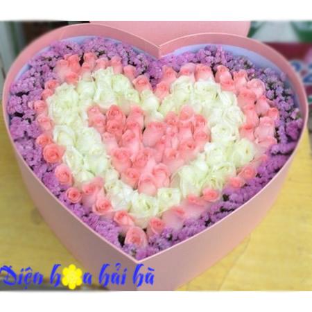 Hộp hoa đẹp tặng người yêu