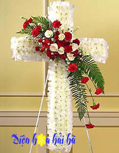 Hoa tang lễ hình thánh giá