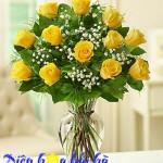 Điện hoa Hải Hà kể về sự tích Hoa hồng vàng