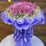 Cùng Shop hoa kể chuyện về Hoa hồng tím