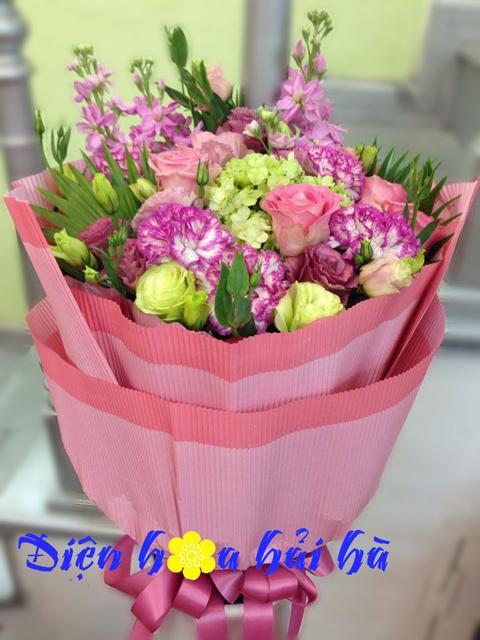 Bó hoa nhiều mầu