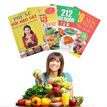 Sách nấu ăn Qùa tặng cho mẹ