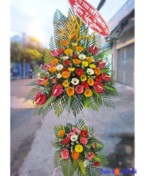 Lẵng hoa đẹp giá rẻ