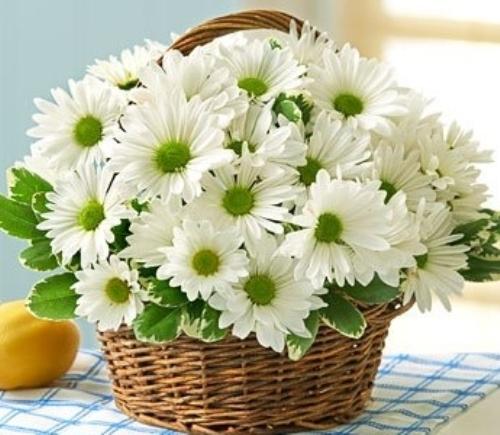 Giỏ hoa tặng kỷ niệm ngày cưới năm thứ 5