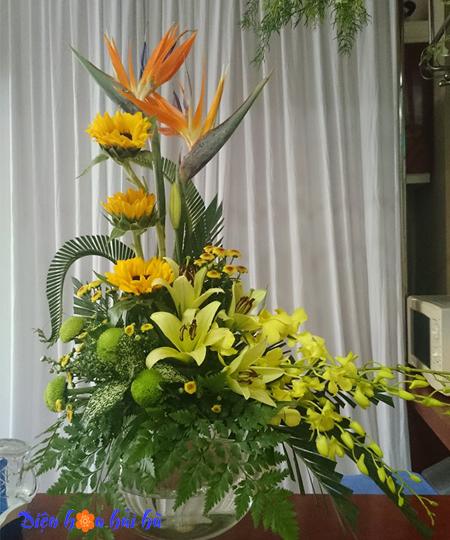 Hoa tặng nam giới mẫu 34