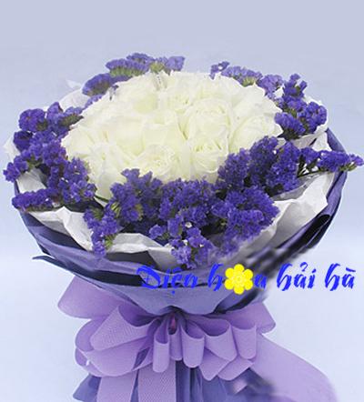 Bó hoa kỷ niệm ngày cưới mẫu 26