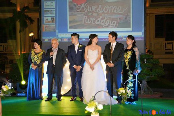 Xu hướng trang trí tiệc cưới mầu xanh cốm