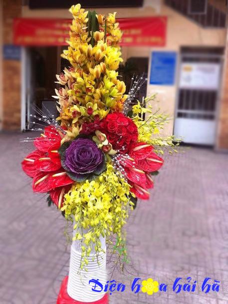 Bình hoa tặng nam giới mẫu 25