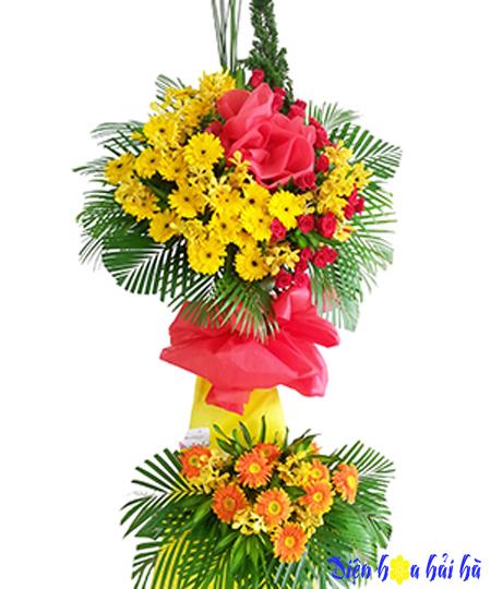 Hoa chúc mừng đẹp bằng hoa đồng tiền