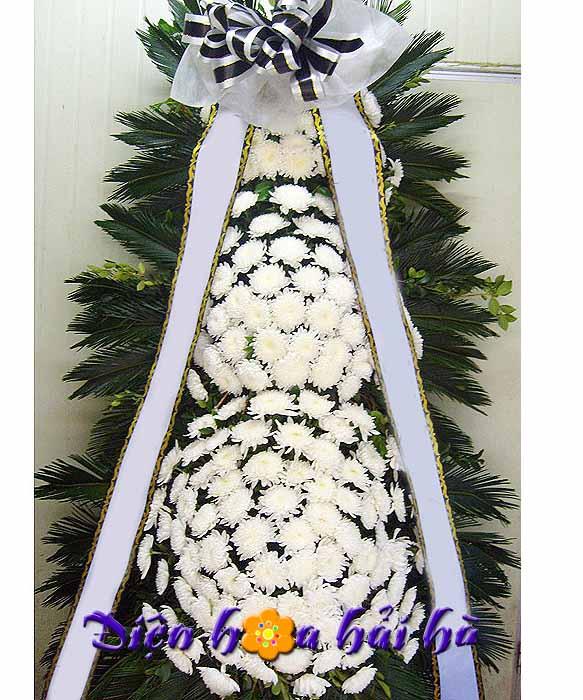 Hoa viếng đám tang kiểu Hàn Quốc-01