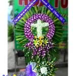 5 kiểu sắp xếp hoa trong hoa tang lễ