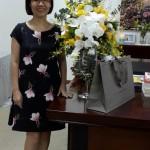 Hoa tặng sinh nhật sếp cấp cao của công ty VinDS