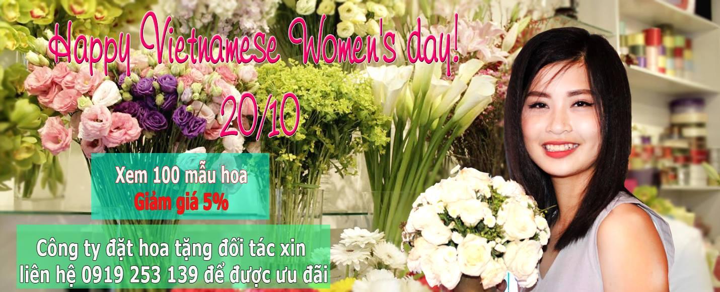 Hoa ngày phụ nữ VN 20-10