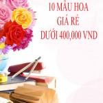 10 Mẫu hoa 20/11 giá rẻ tặng Thầy cô giáo dưới 400,000 vnd
