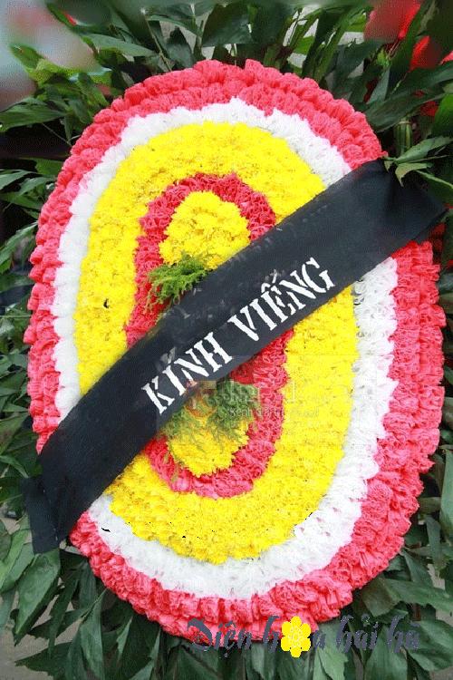 Đặt vòng hoa tang lễ 400k tại Hà Nội