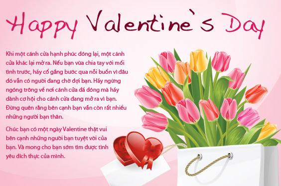 Hoa ngày Valentine 14-02 2017