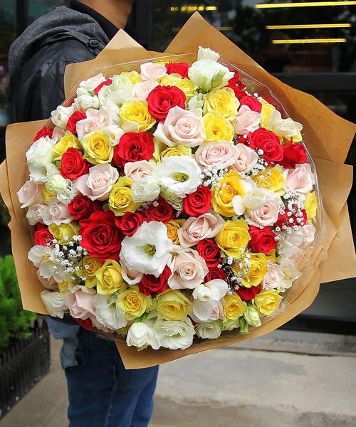 Mầu sắc tình yêu – Hoa valentine