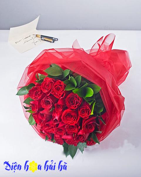 Một tình yêu chân thành – 21 bông hồng đỏ
