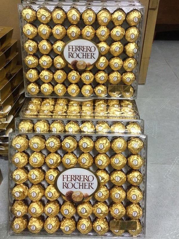 Sôcôla nhân hạt dẻ Fedarrero Rocher 48 viên