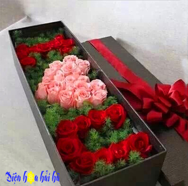 Hộp valentine I lOVE YOU