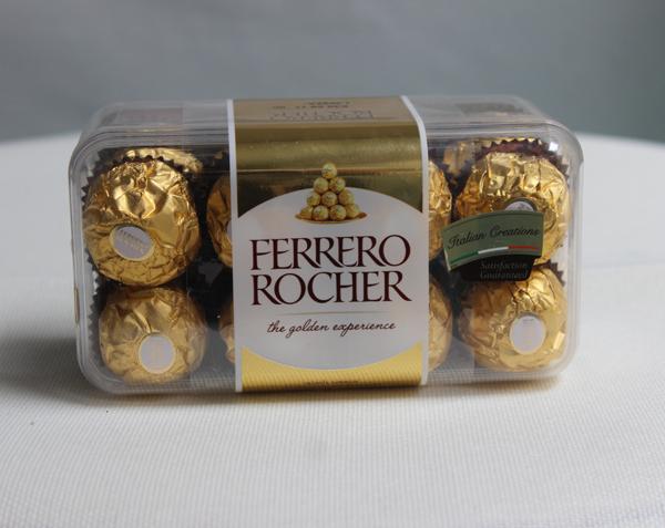 Sôcôla nhân hạt dẻ Ferrero Rocher 16 viên