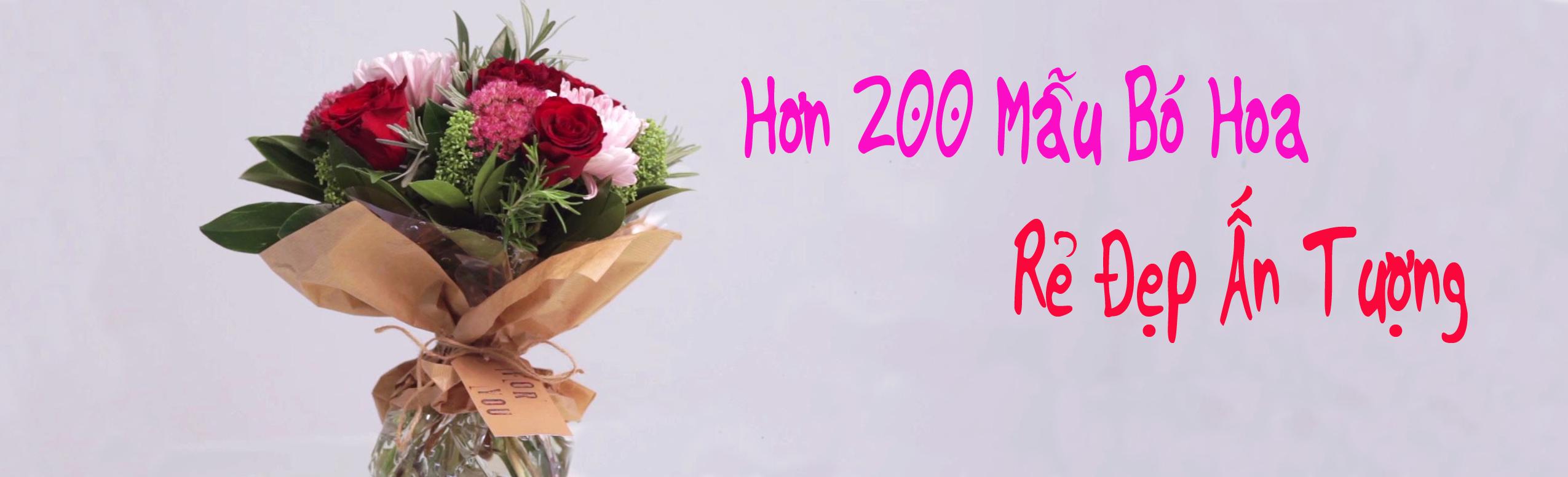 200+ Bó hoa chúc mừng